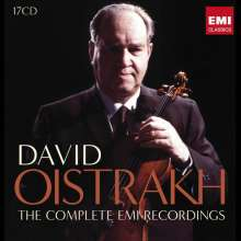David Oistrach - Complete EMI-Recordings, 17 CDs