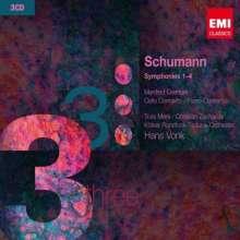 Robert Schumann (1810-1856): Symphonien Nr.1-4, 3 CDs
