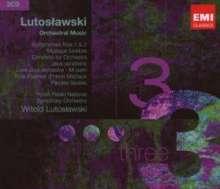 Witold Lutoslawski (1913-1994): Symphonien Nr.1 & 2, 3 CDs