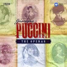 Giacomo Puccini (1858-1924): Puccini - The Operas (EMI-Edition), 17 CDs