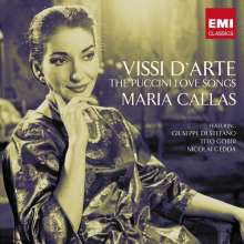 Maria Callas - Vissi d'Arte (The Puccini Love Songs), 2 CDs