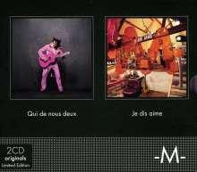 -M- (Matthieu Chedid): Je Dis Aime / Qui De Nous Deux (Limited Edition), 2 CDs