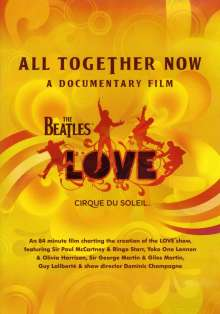 Beatles & Cirque Du Soleil: All Together Now: A Documentary Film, DVD