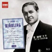 Jussi Björling - The Swedish Caruso (Icon Series), 5 CDs