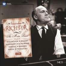 Svjatoslav Richter - The Master Pianist (Icon Series), 14 CDs