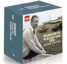 Benjamin Britten (1913-1976): Benjamin Britten - The Collector's Edition, 37 CDs
