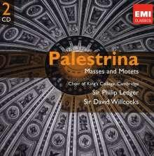 Giovanni Pierluigi da Palestrina (1525-1594): 4 Messen, 2 CDs