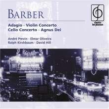 Samuel Barber (1910-1981): Violinkonzert op.14, CD