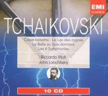 Peter Iljitsch Tschaikowsky (1840-1893): Symphonien Nr.1-6, 10 CDs
