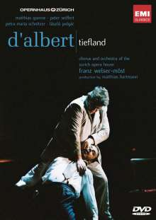 Eugen D'Albert (1864-1932): Tiefland, 2 DVDs