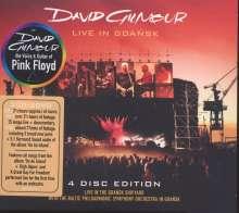 David Gilmour: Live In Gdansk, 2 CDs und 2 DVDs