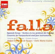 Manuel de Falla (1876-1946): El Amor Brujo, 2 CDs