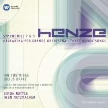 Hans Werner Henze (1926-2012): Symphonien Nr.7 & 9, 2 CDs