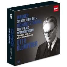 Otto Klemperer dirigiert Wagner & Strauss, 5 CDs