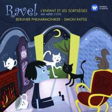 Maurice Ravel (1875-1937): L'enfant et les sortileges, CD