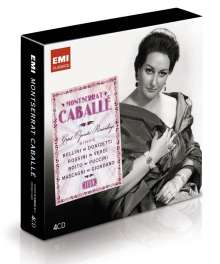 Montserrat Caballe - Great Operatic Recordings (Icon Series), 4 CDs
