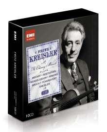 Fritz Kreisler - The Charming Maverick (Icon Series), 10 CDs