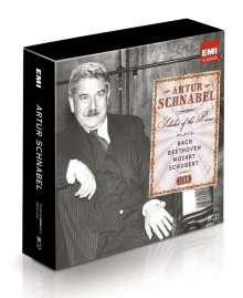Artur Schnabel - Scholar of the Piano (Icon Series), 8 CDs
