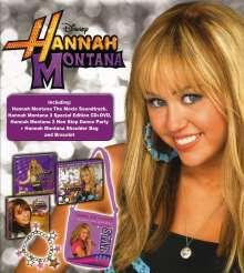 Filmmusik: Hannah Montana Xmas Box High (Limited Edition), 3 CDs und 1 DVD