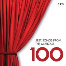 100 Best Songs from the Musicals (EMI), 6 CDs