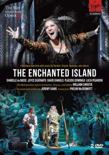 The Enchanted Island (Opern-Pasticcio), 2 DVDs