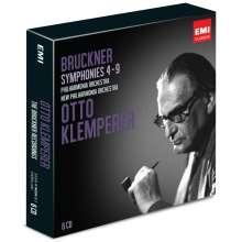 Anton Bruckner (1824-1896): Symphonien Nr.4-9, 6 CDs