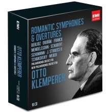 Otto Klemperer - Romantische Symphonien & Ouvertüren, 10 CDs