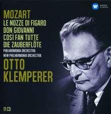 Otto Klemperer dirigiert Mozart-Opern, 11 CDs