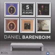 Daniel Barenboim - 5 Classic Albums, 5 CDs