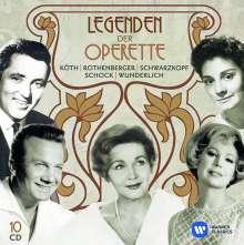 Legenden der Operette, 10 CDs