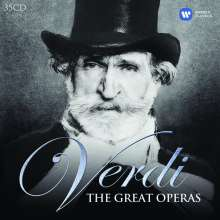 Giuseppe Verdi (1813-1901): Verdi - The Great Operas, 35 CDs