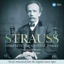 Richard Strauss (1864-1949): Sämtliche Orchesterwerke, 9 CDs