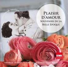 EMI Inspiration - Plaisir d'amour: Souvenirs de la Belle Epoque, CD