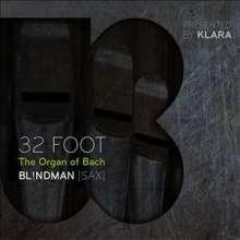 Bl!ndman - 32 Foot, the Organ of Bach, CD