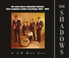 Shadows: The Early Years  (Expanded Edition), 6 CDs
