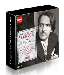Frederic Chopin (1810-1849): Samson Francois - The Chopin Recordings (Icon Series), 10 CDs