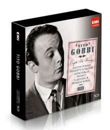 Tito Gobbi - Complete Solo Recordings (Icon Series), 5 CDs