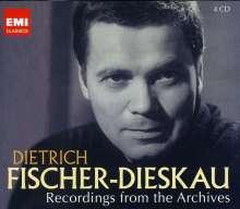 Dietrich Fischer-Dieskau - Recordings from the Archives, 4 CDs