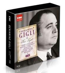 Benjamino Gigli - The Tenor Legend (Icon Series), 7 CDs