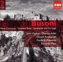Ferruccio Busoni (1866-1924): Klavierkonzert op.39, 2 CDs