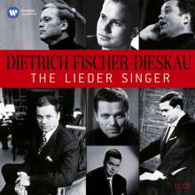 Dietrich Fischer-Dieskau - The Great EMI Recordings, 10 CDs