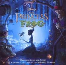 Filmmusik: The Princess And The Frog (englische Original Version), CD