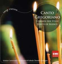 Canto Gregoriano - Stimmen der Stille, CD