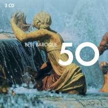 50 Best Baroque, 3 CDs