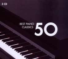 50 Best Piano, 3 CDs