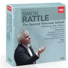 Simon Rattle - Zweite Wiener Schule, 5 CDs