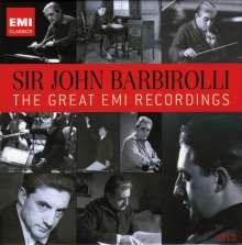 Sir John Barbirolli - The Great EMI Recordings, 10 CDs