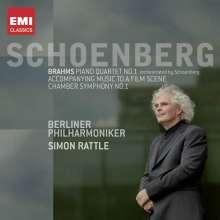 Arnold Schönberg (1874-1951): Kammersymphonie Nr.1 op.9, CD