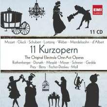 11 Kurzopern - The Original Electrola One-Act-Operas, 11 CDs