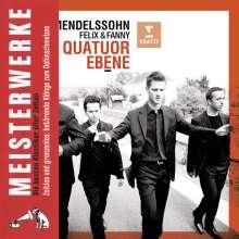 Quatuor Ebene - Felix und Fanny, CD